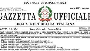 """DL """"CURA ITALIA"""" n. 18/2020: Misure per i lavoratori dello sport"""